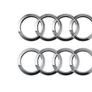 Audi Ringe vorher nachher