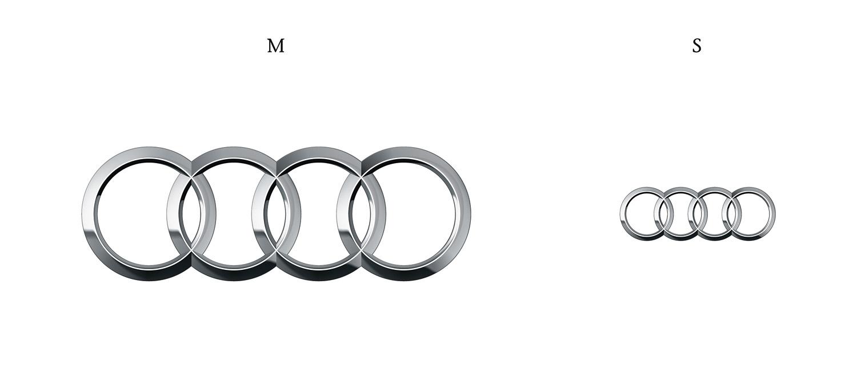 Audi Ringe M und S Version