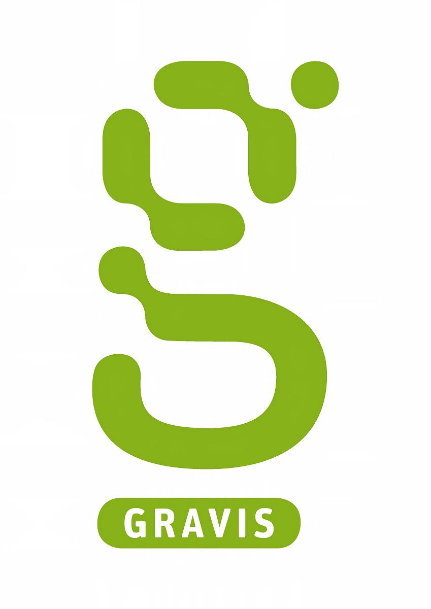 Das Gravis Logo (positiv)
