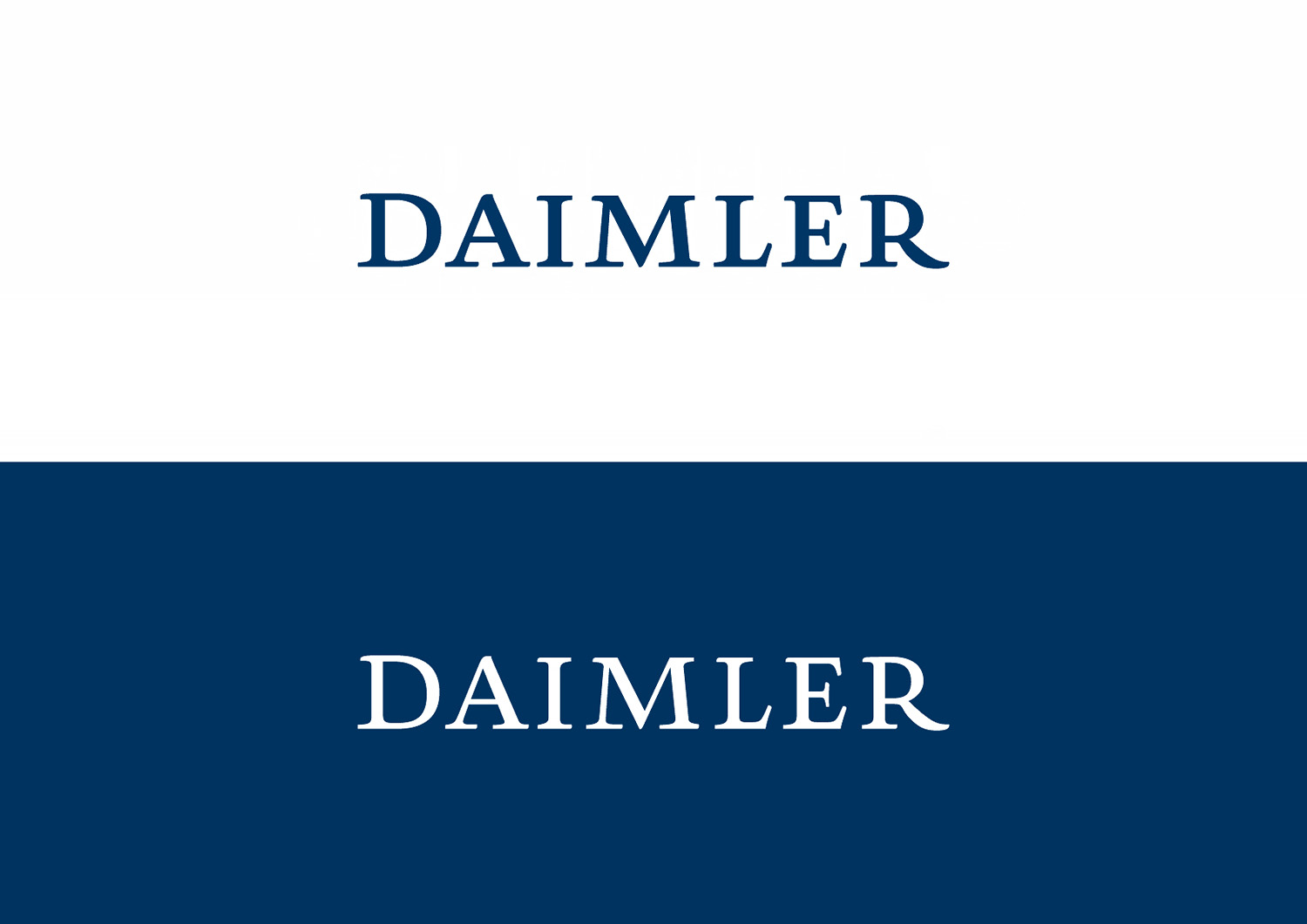 Daimler Logos 2007 Messingerdesign