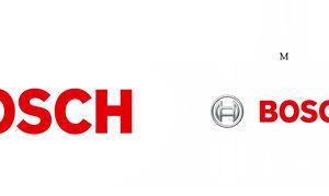 Die Größen L, M, S der Bosch Bildwortmarke