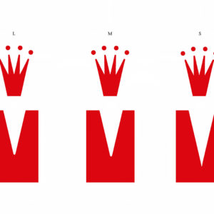 Größenvergleich des Triumph Logos