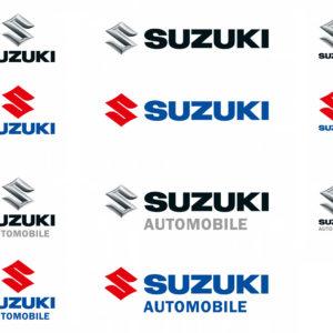 Die Suzuki Logoversionen