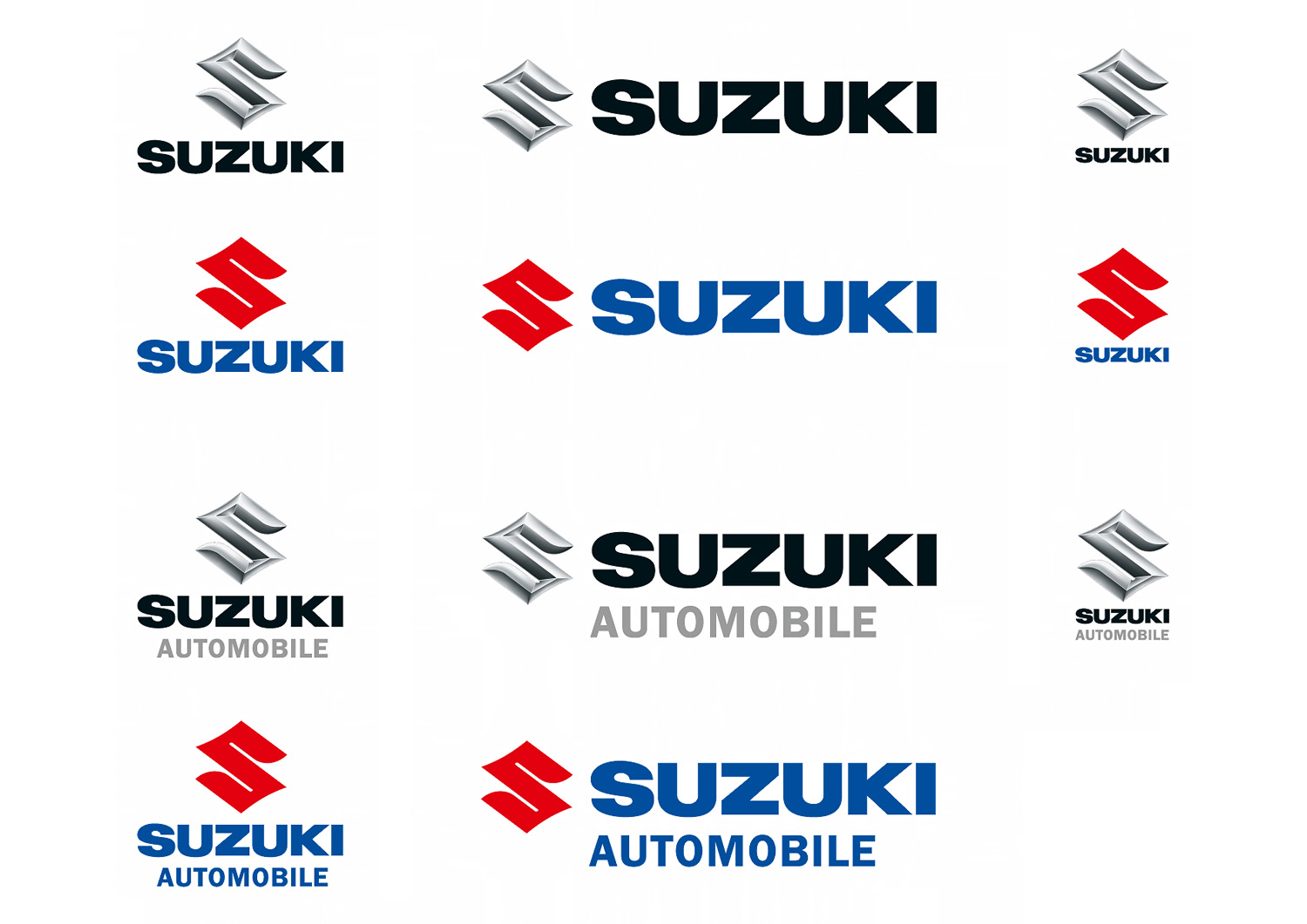 Suzuki Logo 2004 2005 2006 Messingerdesign