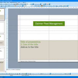 Daimler Fleet Management – Titelfolie