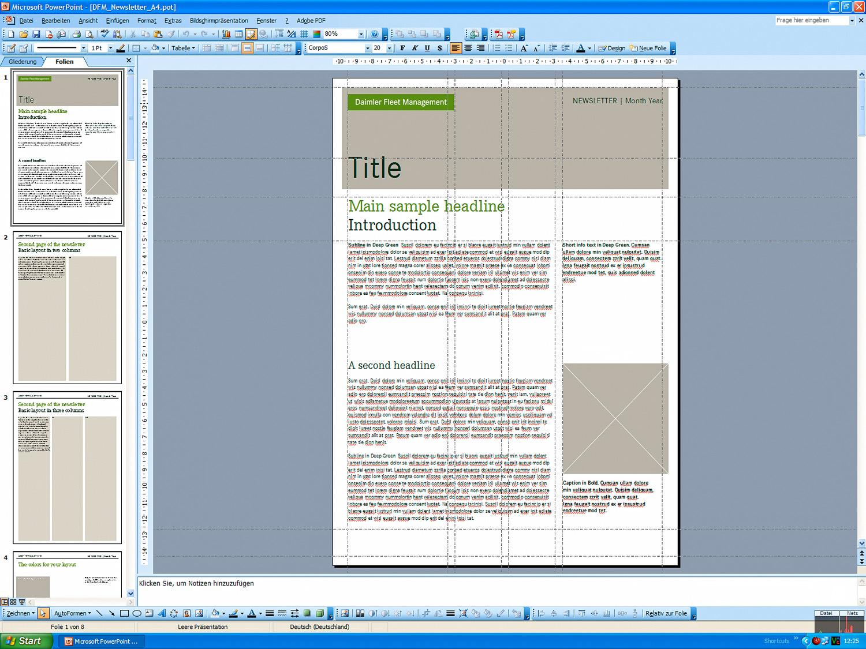 Daimler PowerPoint Templates (2007/2008) | MessingerDesign