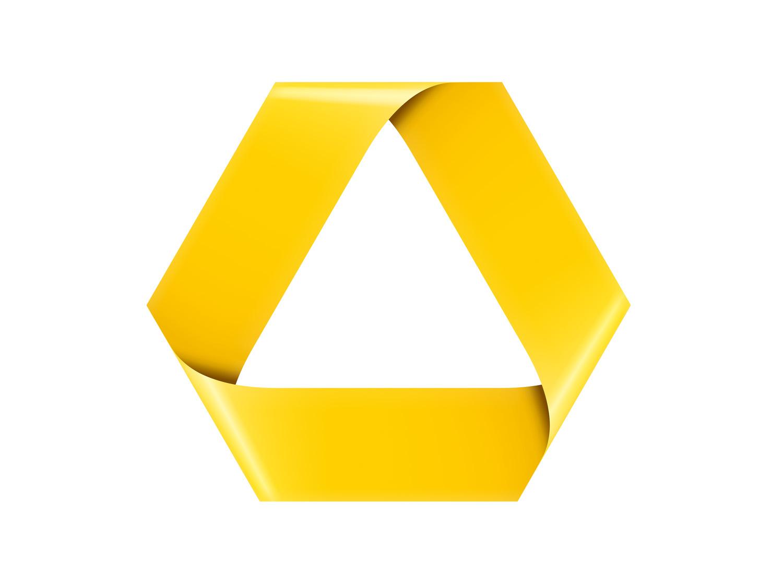 Commerzbank Logo 2009 2010 Messingerdesign
