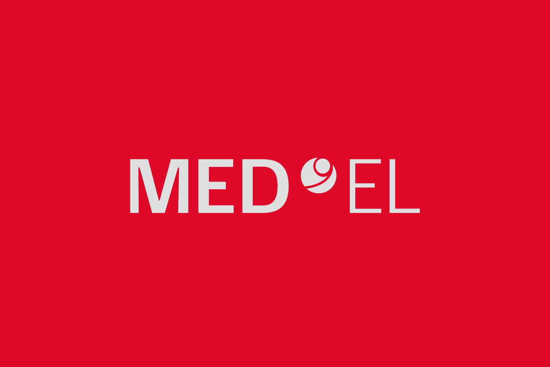 MED-EL Logo negativ