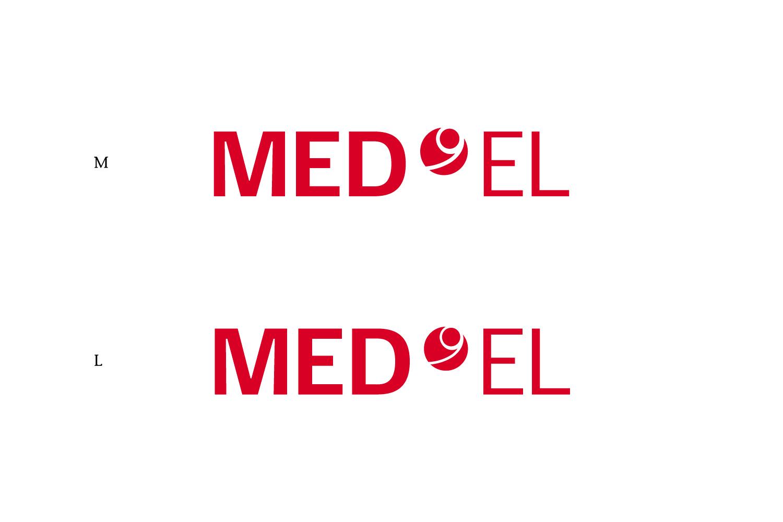 MED-EL Logo Größenversionen
