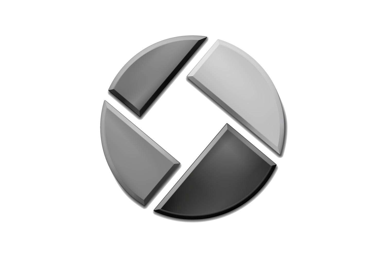 Inoxum Logo Bildmarke Graustufen